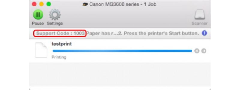 Lista de Códigos de Erros e Soluções nas Impressoras Canon