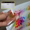 Vinil Transparente autocolante para impressoras laser - 10 folhas
