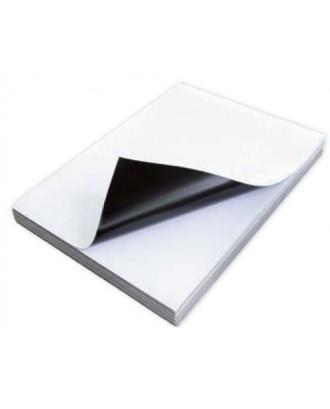 Papel magnético brilhante para criar ímans - A4...