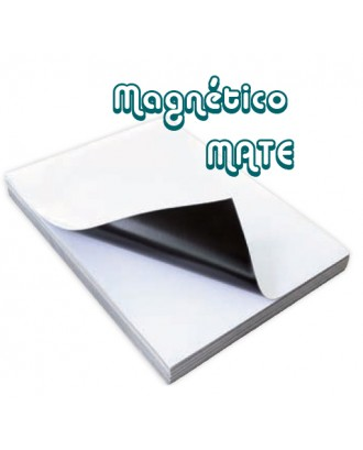 Papel magnético mate para criar ímans - A4...
