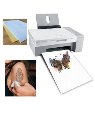 Papel para tatuagem temporária (removível) - para impressora a jato de tinta