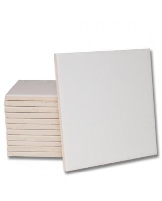 Azulejo Premium Branco Brilhante para sublimação...