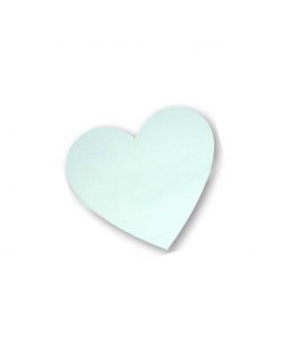 Íman na forma de Coração p/ Frigorífico 5,5 x 5 cm para Sublimação