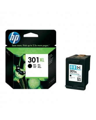 Tinteiro original HP 301 XL - PRETO