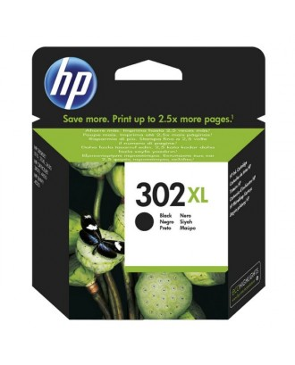 Tinteiro original HP 302 XL - PRETO