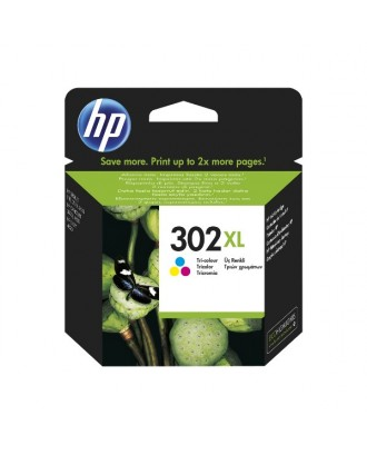 Tinteiro original HP 302 XL - TRICOLOR