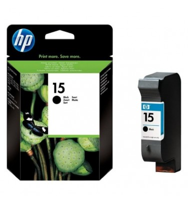 Tinteiro original HP 15 Preto - 25 ml